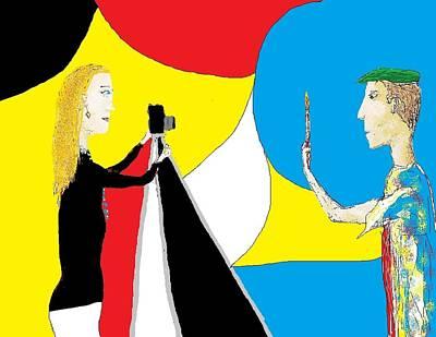 Digital Art - Doodle 16 by Jim Taylor