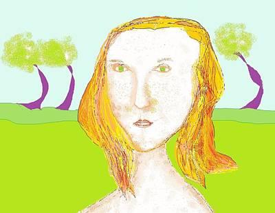 Digital Art - Doodle 21 by Jim Taylor