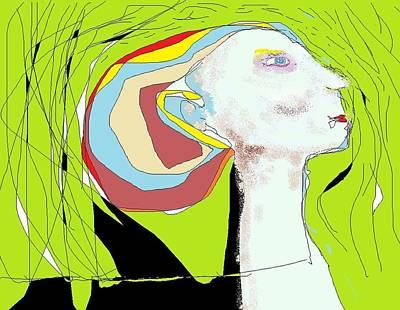Digital Art - Doodle 5 by Jim Taylor
