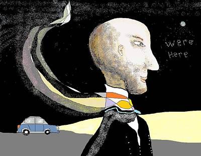 Digital Art - Doodle 7 by Jim Taylor