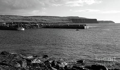 Photograph - Doolin Harbour by Peter Skelton