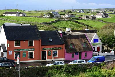 Doolin Village County Clare Art Print