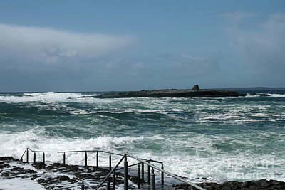 Photograph - Doolin Waves by Peter Skelton