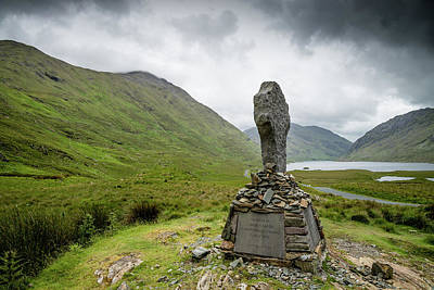 Photograph - Doolough Valley, Co Mayo by Martina Fagan
