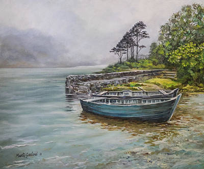 Doolough View Art Print by Marty Garland