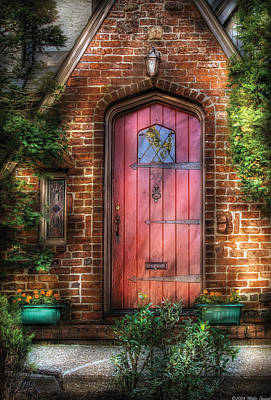 Photograph - Door - Sweet As Gingerbread  by Mike Savad