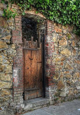 Photograph - Door 1635 by Michael Kirk