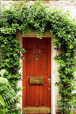 Photograph - Door 210 by Heather Green