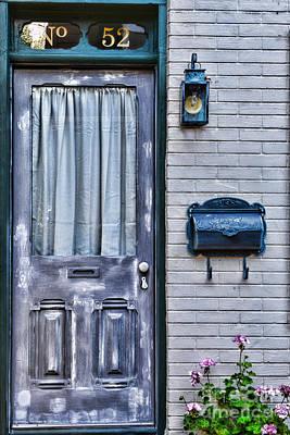 Mail Box Photograph - Door 52 by Paul Ward