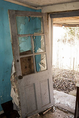 Photograph - Door Ajar by Melissa Newcomb