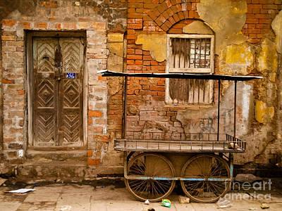 Photograph - Door And Cart by Derek Selander