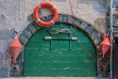 Photograph - Door And In Cinque Terre Italy   by John McGraw
