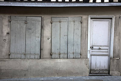 Photograph - Door And Shutters by Hugh Smith