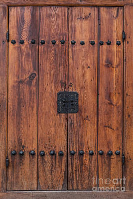 Photograph - Door And Texture Of Bukchon Hanok Village by James BO Insogna
