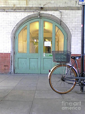 Photograph - Door And Wheel by Rebecca Harman