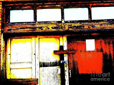 Door And Window Abstract Original by Chuck Taylor