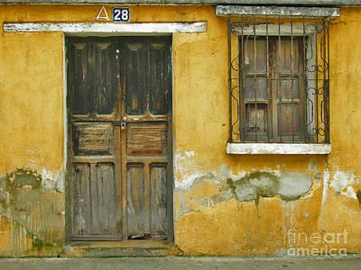 Door And Window Art Print by Derek Selander