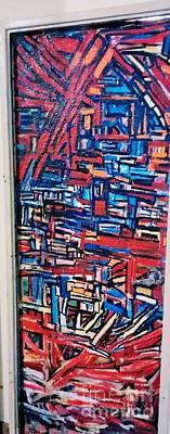 Door Art Paintings Abstract Original