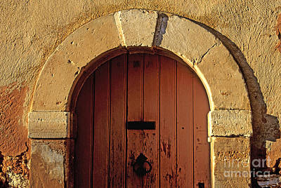 South Of France Photograph - Door by Bernard Jaubert