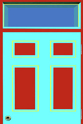 Photograph - Door - Bold Colors by Nikolyn McDonald