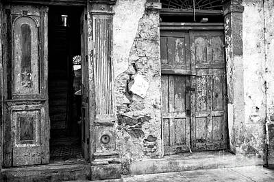 Photograph - Door Choices In Panama City by John Rizzuto