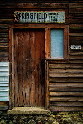 Photograph - Door by Chuck De La Rosa