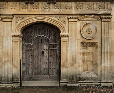 Photograph - Door Detail by Jean Noren