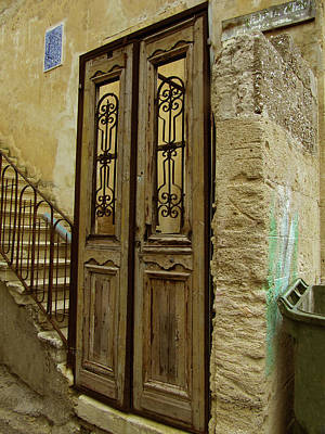 Photograph - Door Gold by Donna Munro