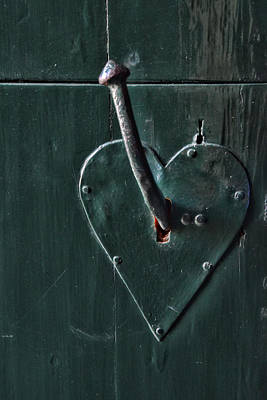Photograph - Door Handle by Mihaela Pater
