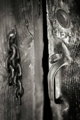 Digital Art - Door Handle by Patrick Groleau