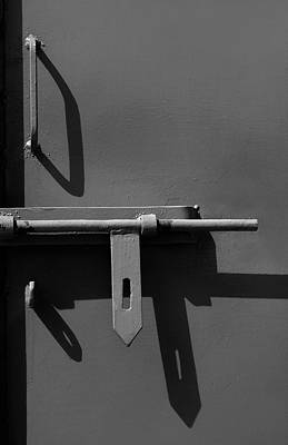 Photograph - Door Handle Shadows by Prakash Ghai
