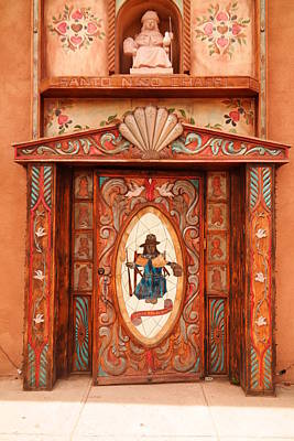 Chimayo Photograph - Door In Chimayo by Jeff Swan