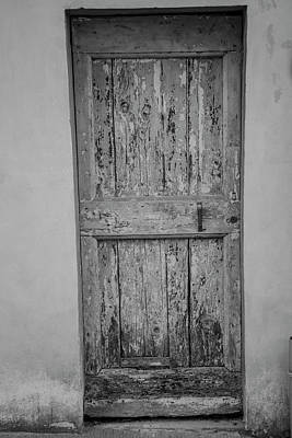 Photograph - Door In Florence Italy  by John McGraw