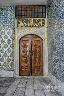 Photograph - Door In Harem Istanbul by Patricia Hofmeester