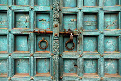 Photograph - Door In India by Jose Luis Vilchez