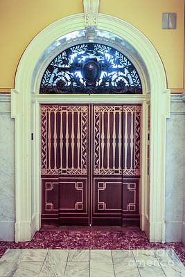 Door In Library Of Congress Art Print