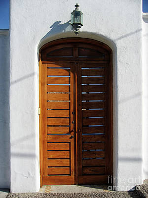 Photograph - Door In Manzanillo, Mexico by Tatiana Travelways