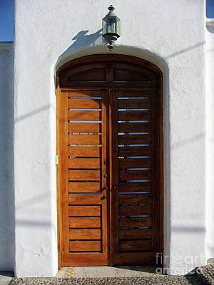 Photograph - Door In Manzanillo, Mexico by Tatiana Travelways