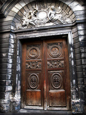 Photograph - Door In Paris by Joan  Minchak