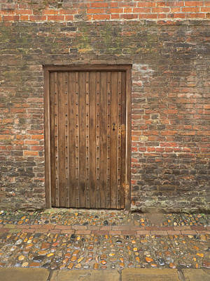 Photograph - Door In The Wall by Jean Noren