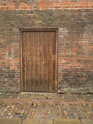 Photograph - Door In The Wall by Jean Noren