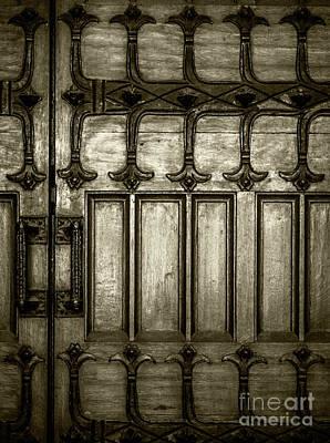 Photograph - Door Irons by James Aiken