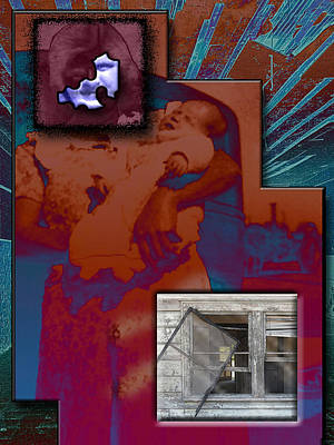 Madonna And Child Digital Art - Door Is Open But No One Home by Steven Head