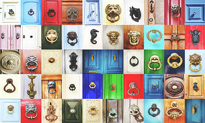 Photograph - Door Knobs Of The World Collection by Sotiris Filippou