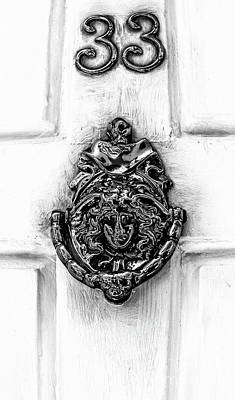 Photograph - Door Knockers Of Charleston by Dale Powell
