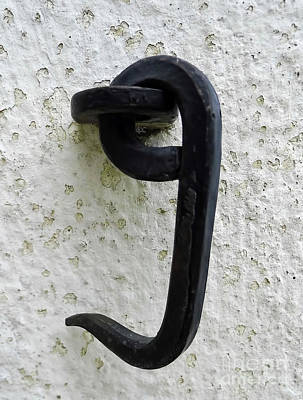 Photograph - Door Latch On The Lighthouse by D Hackett