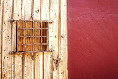 Photograph - Door Meets Wall by Scott Kemper