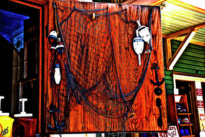 Photograph - Door Netting by Gina O'Brien