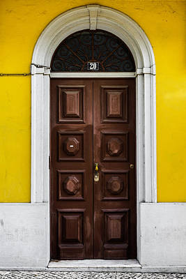 Photograph - Door No 20 by Marco Oliveira