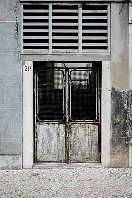 Photograph - Door No 21b by Marco Oliveira
